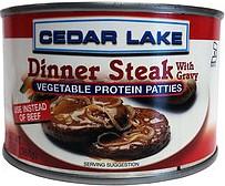 DINNER STEAKS 13 OZ,CEDAR LAKE,7358200120