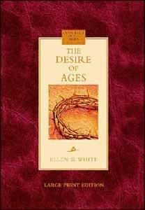 DESIRE OF AGES LARGE PRINT,ELLEN WHITE,0816321256