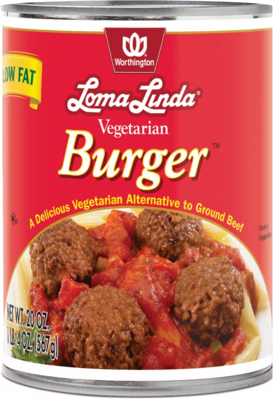 VEGETARIAN BURGER LF WR CASE,WORTHINGTON LF,100049