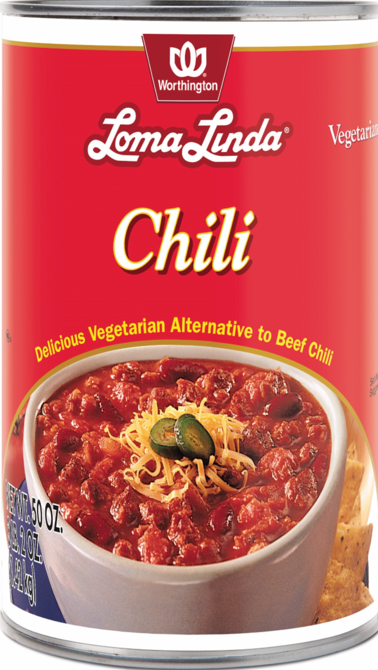CHILI WR FAMILY SIZE CASE,WORTHINGTON,100052