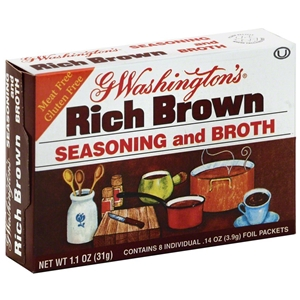 G WASHINGTON BROTH BROWN CASE,HOMESTAT FARM,1131650