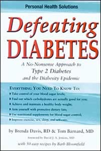 DEFEATING DIABETES,COOKBOOKS/HEALTHBOOKS,1570671397