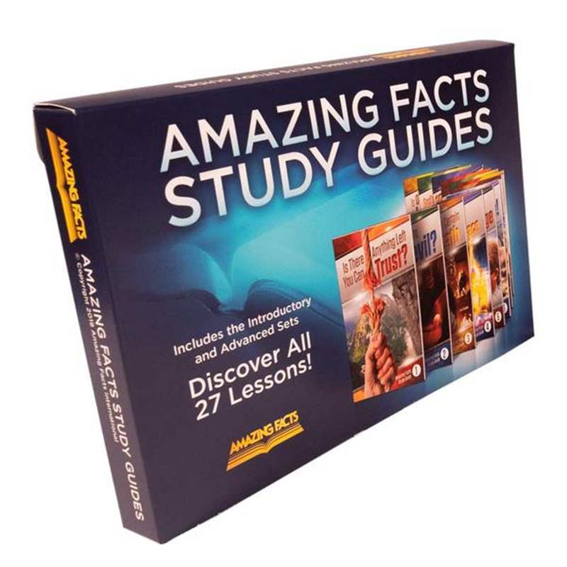 AMAZING FACTS COMPLETE SET  1-27 IN BOX [AMF],BIBLE STUDY,SG-CSET