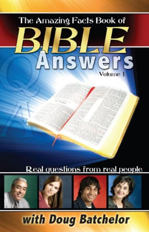 BOOK OF BIBLE ANSWERS AMAZING FACTS,FAITH & HERITAGE,BK-BOBA