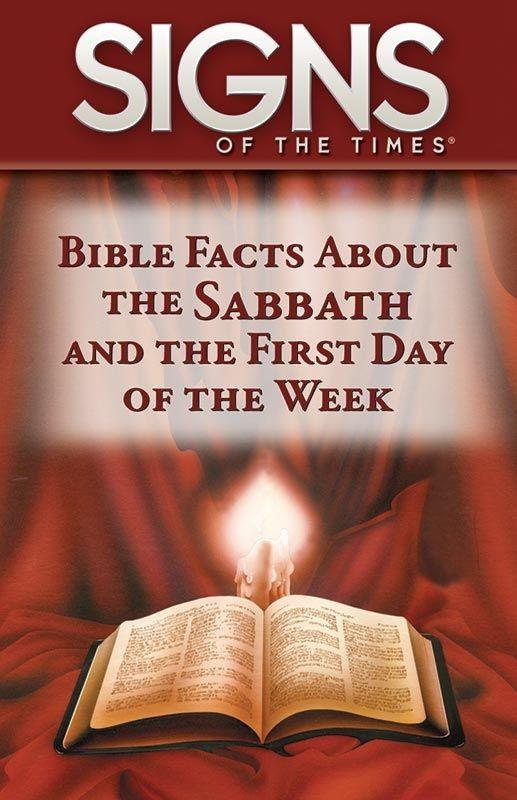 BIBLE FACTS ABOUT SABBATH & 1ST DAY OF WEEK 100PK [PKS],SHARING,4333003601