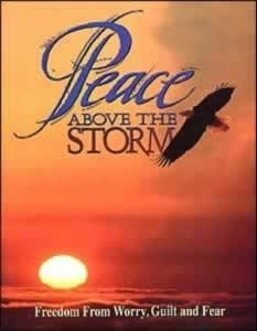 PEACE ABOVE THE STORM,ELLEN WHITE,0816313857