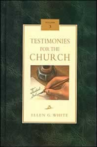 TESTIMONIES FOR THE CHURCH CL [3 OF 9],ELLEN WHITE,081631893X