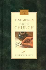 TESTIMONIES FOR THE CHURCH CL [5 OF 9],ELLEN WHITE,0816318956