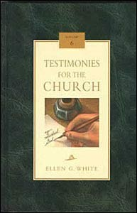 TESTIMONIES FOR THE CHURCH CL [6 OF 9],ELLEN WHITE,0816318964