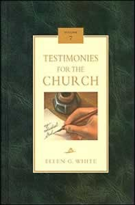 TESTIMONIES FOR THE CHURCH CL [7 OF 9],ELLEN WHITE,0816318972