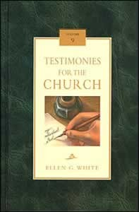 TESTIMONIES FOR THE CHURCH CL [9 OF 9],ELLEN WHITE,0816318999