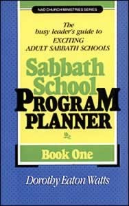 SABBATH SCHOOL PROGRAM PLANNER V1,BIBLE STUDY,0828005133