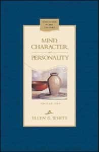 MIND CHARACTER & PERSONALITY 1 OF 2,ELLEN WHITE,0828016380