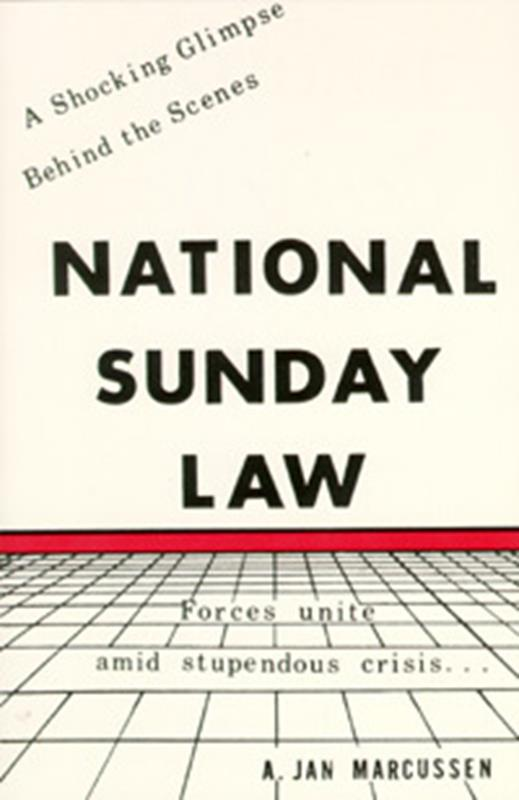 NATIONAL SUNDAY LAW MM,FAITH & HERITAGE,834-9401