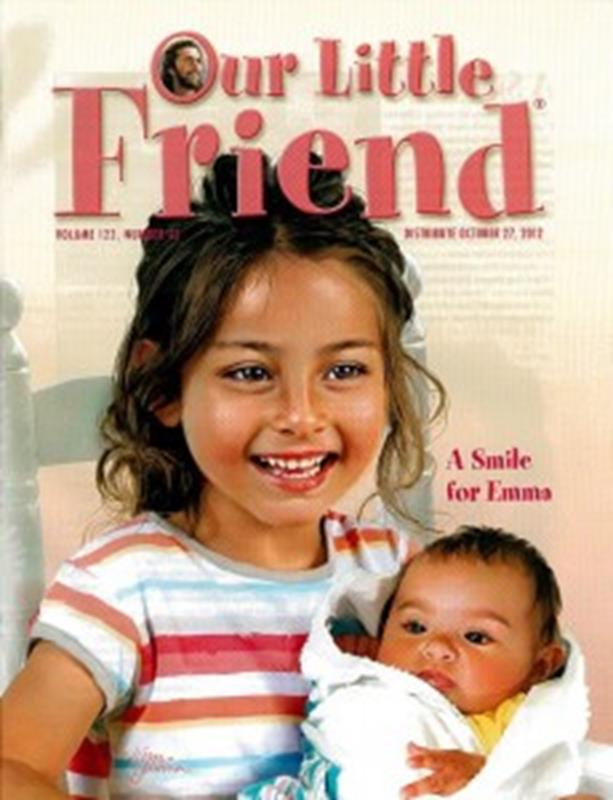 Q OUR LITTLE FRIEND 1 YR SUBSCRIPTION,SABBATH SCHOOL,OLF