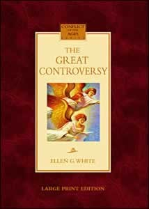 GREAT CONTROVERSY LARGE PRINT,ELLEN WHITE,0816322996