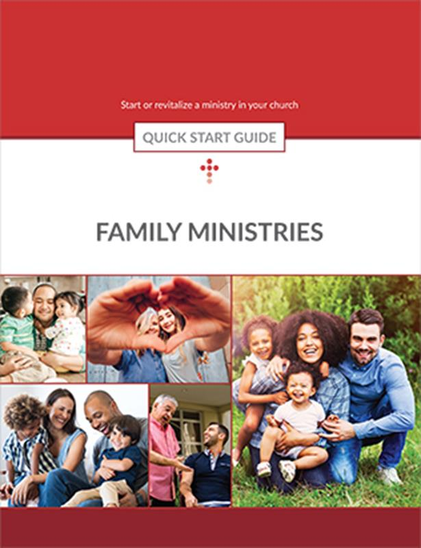 QUICK START GUIDE FAMILY MINISTRIES,BIBLE STUDY,351745