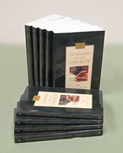 TESTIMONIES FOR THE CHURCH TP 9V SET,ELLEN WHITE,4333003902