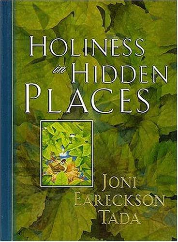 HOLINESS IN HIDDEN PLACES,CHRISTIAN LIVING,0849953677