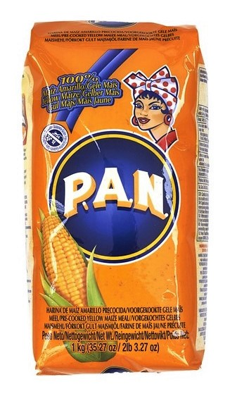 PAN YELLOW CORN MEAL,GOYA,6063