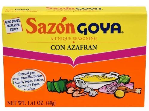 SAZON GOYA CON AZAFRAN,GOYA,4133103784