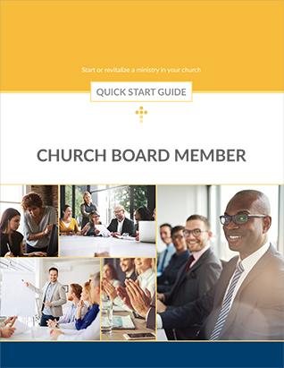 QUICK START GUIDE CHURCH BOARD MEMBER,BIBLE STUDY,416220