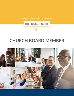 QUICK START GUIDE CHURCH BOARD MEMBER,BIBLE STUDY,416220