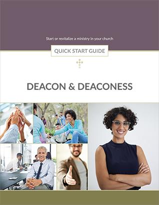 QUICK START GUIDE DEACON & DEACONESS,BIBLE STUDY,416226