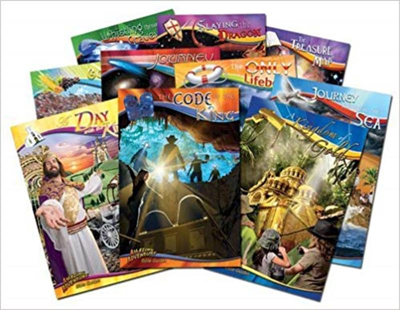 AMAZING ADVENTURE BIBLE GUIDES A JOURNEY FOR LIFE WITH JESUS,CHILDREN'S MINISTRY,SG-BGSET