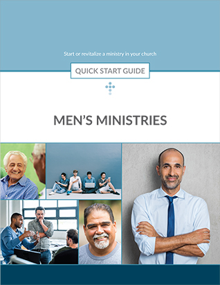 QUICK START GUIDE FOR MENS MINISTRY,BIBLE STUDY,351750