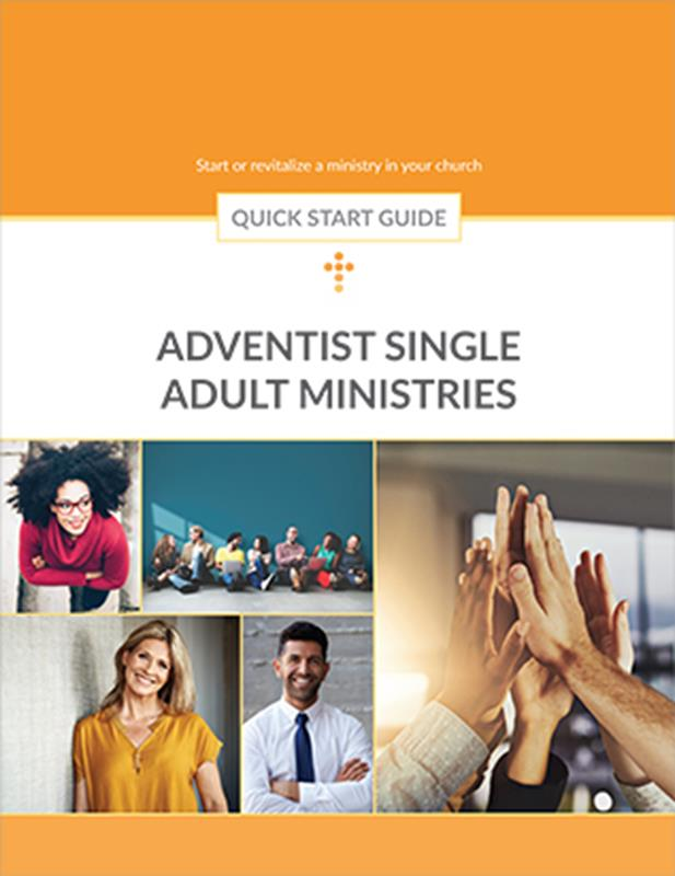QUICK START GUIDE SINGLE ADULT MINISTRIES,BIBLE STUDY,351740