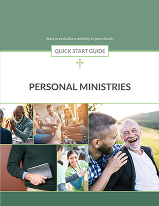 QUICK START GUIDE PERSONAL MINISTRIES,BIBLE STUDY,420535