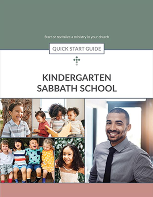 QUICK START GUIDE KINDERGARTEN SABBATH SCHOOL,BIBLE STUDY,556267