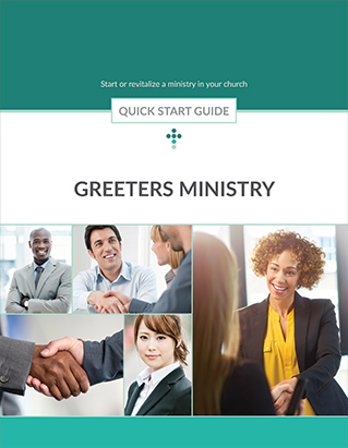 QUICK START GUIDE GREETERS MINISTRY,BIBLE STUDY,416227