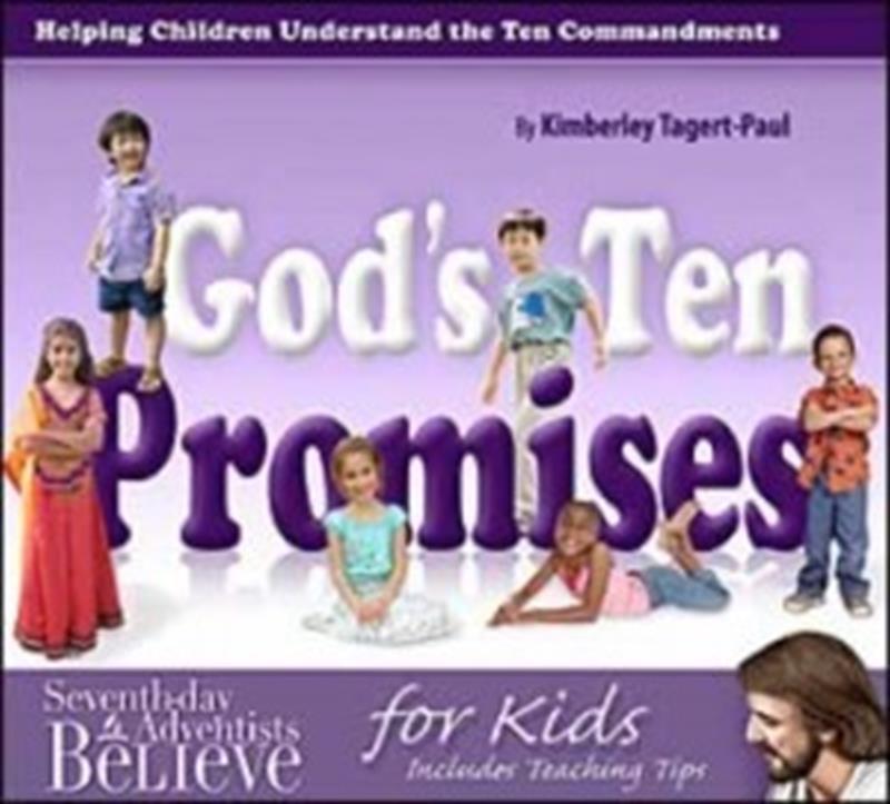 GODS TEN PROMISES,CHILDREN'S MINISTRY,0816323798