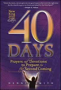 40 DAYS PRAYERS & DEVOTIONS FOR THE 2ND COMING NKJV,CHRISTIAN LIVING,9780816363322