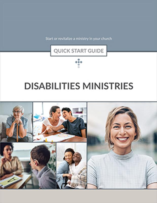 QUICK START GUIDE DISABILITIES MINISTRIES,BIBLE STUDY,416498