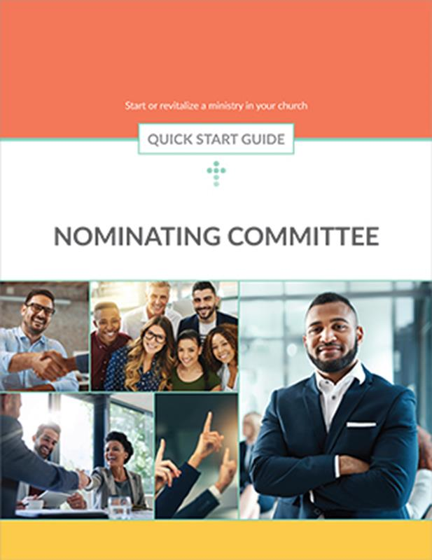 QUICK START GUIDE NOMINATING COMMITTEE,BIBLE STUDY,416233