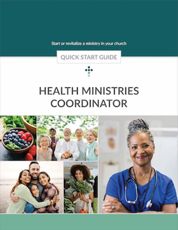QUICK START GUIDE HEALTH MINISTRIES,BIBLE STUDY,500228