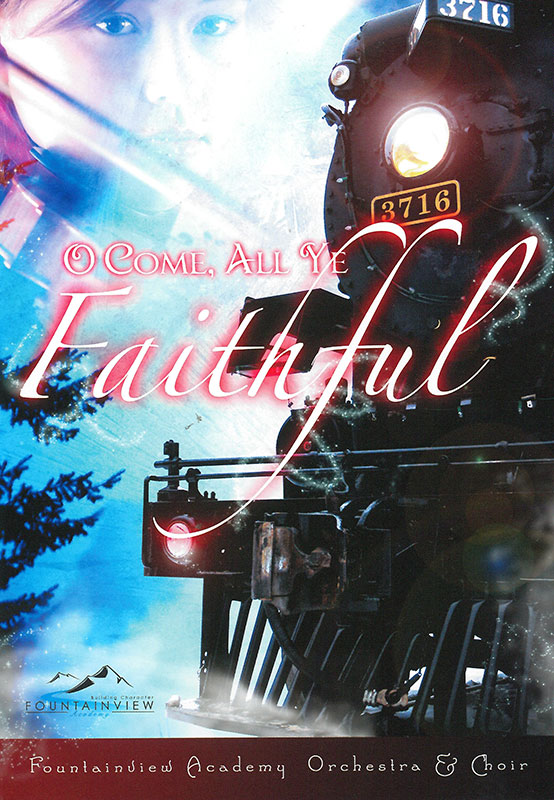 DVD O COME ALL YE FAITHFUL [FOUNTAINVIEW],MEDIA,609728880743