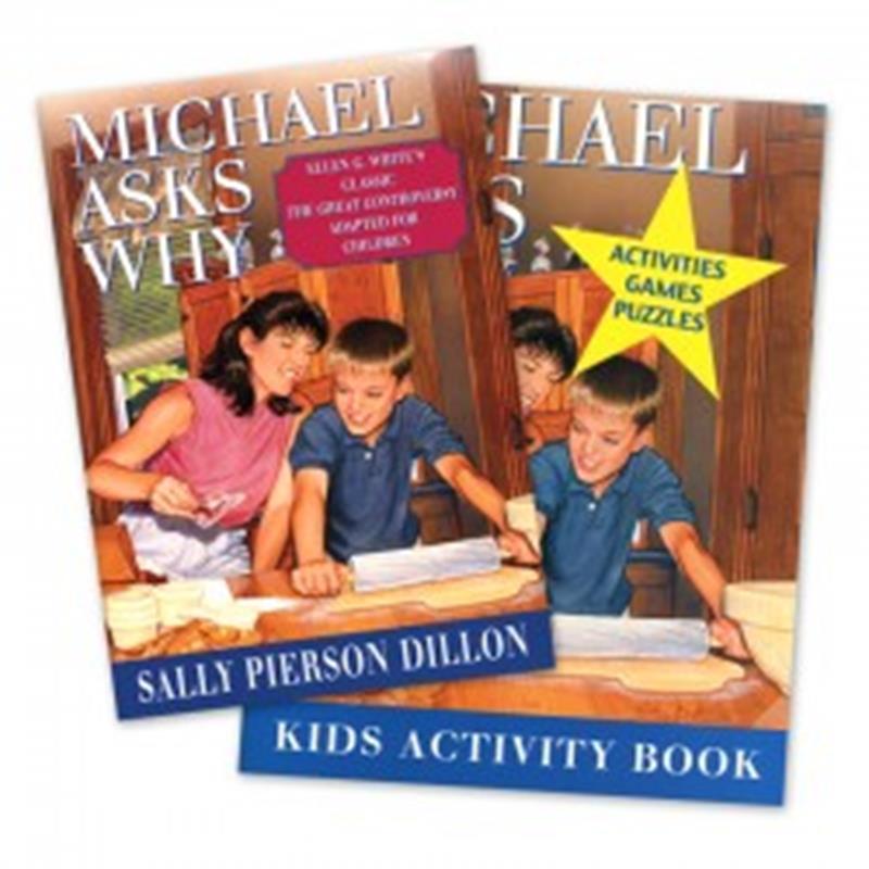 MICHAEL ASKS WHY SET [BOOK & WORKBOOK],CHILDREN'S MINISTRY,4333004334