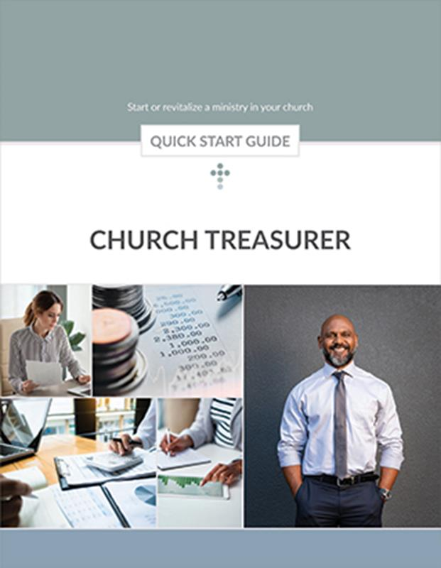 QUICK START GUIDE CHURCH TREASURER,BIBLE STUDY,313022