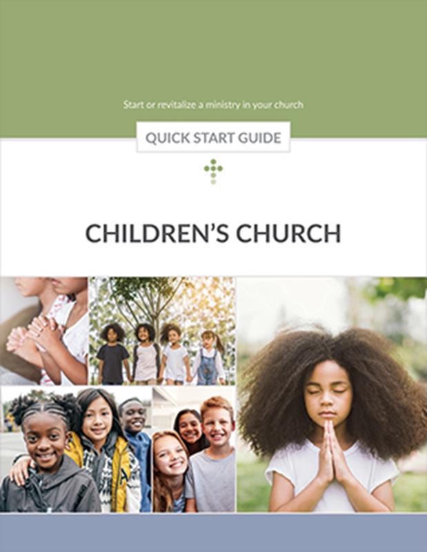QUICK START GUIDE CHILDRENS CHURCH,BIBLE STUDY,026090