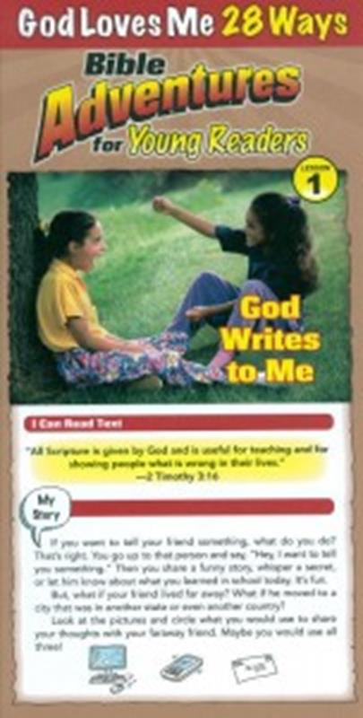 BIBLE ADVENTURES FOR YOUNG READERS: GOD LOVES ME 28 WAYS,BIBLE STUDY,4333004371
