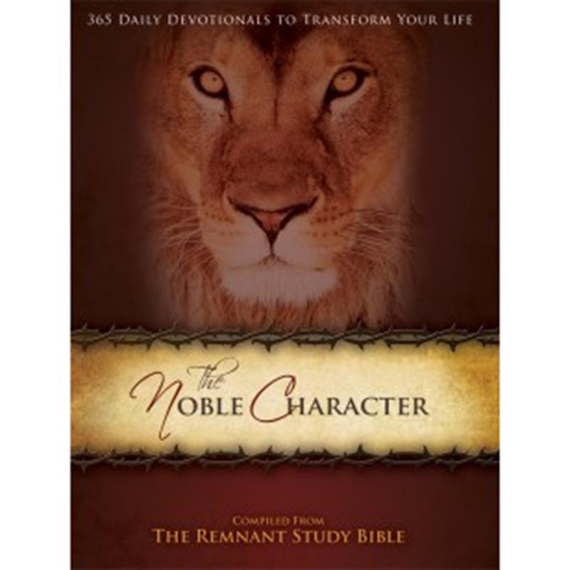 NOBLE CHARACTER 365 DAILY DEVOTIONS TO TRANSFORM YOUR LIFE,DEVOTIONALS,RP1144