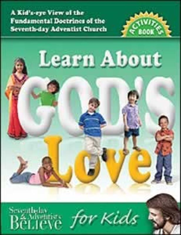 LEARN ABOUT GODS LOVE ACTIVITIES BOOK,CHILDREN'S MINISTRY,0816321876