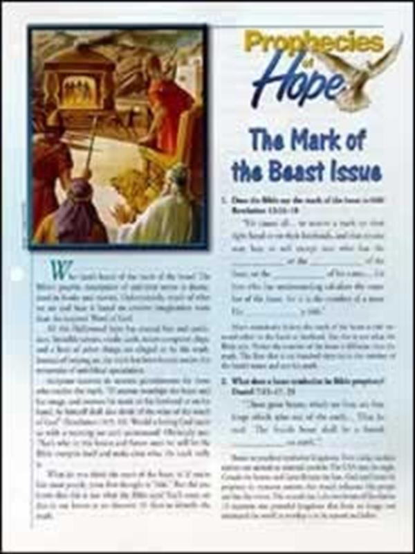 MARK OF THE BEAST ISSUE [POH 2 OF 26],BIBLE STUDY,4333003502