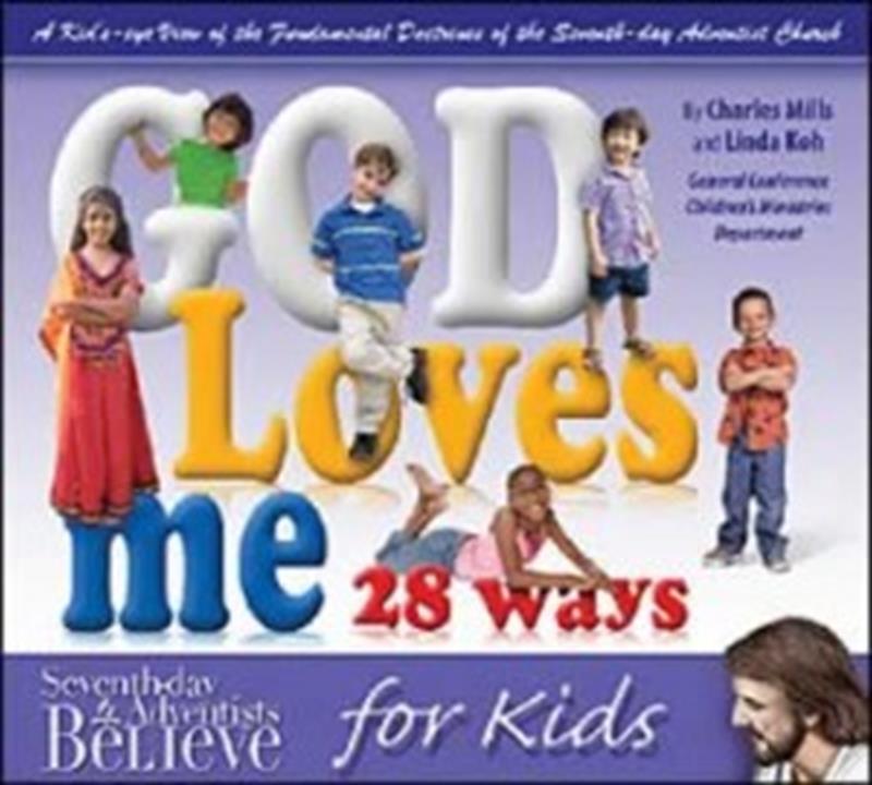 GOD LOVES ME 28 WAYS,CHILDREN'S MINISTRY,0816321817