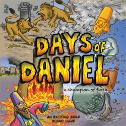 DAYS OF DANIEL BOARD GAME,BARGAIN,9781907244452