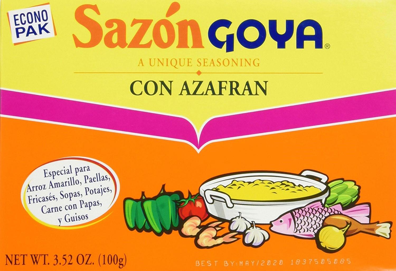 SAZON GOYA CON AZAFRAN ECONO PAK,GOYA,4133103777